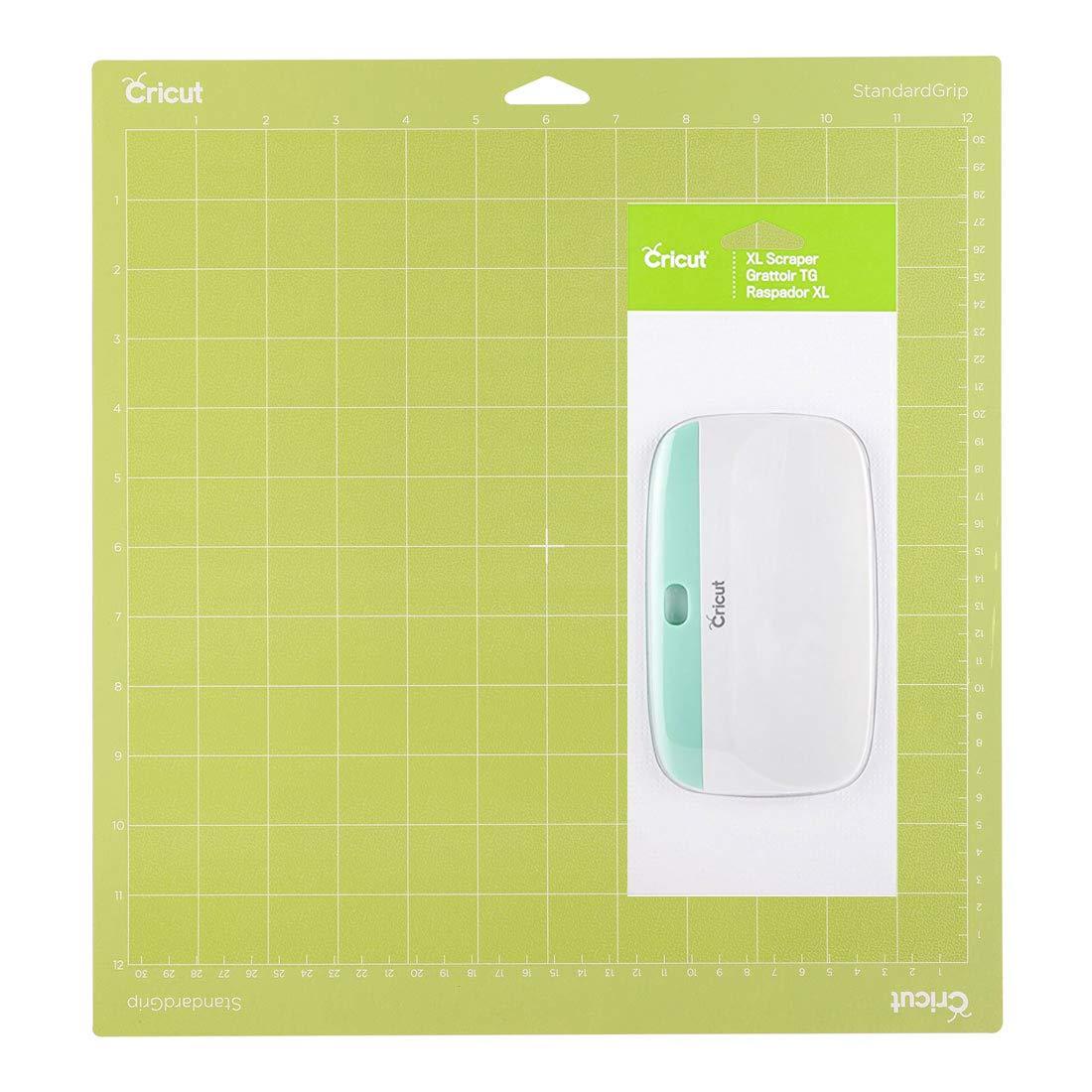 Cricut XL Scraper Plus Cricut 12-by-12 Adhesive Cutting Mat