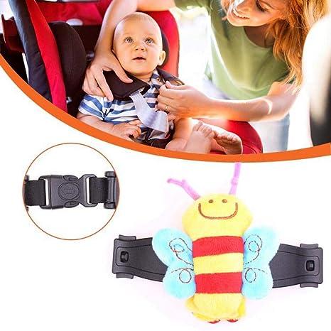Golden.Y Durable Car Baby Safety Seat Strap Belt Lock Harness Chest Clip Lock Safe Buckle Black