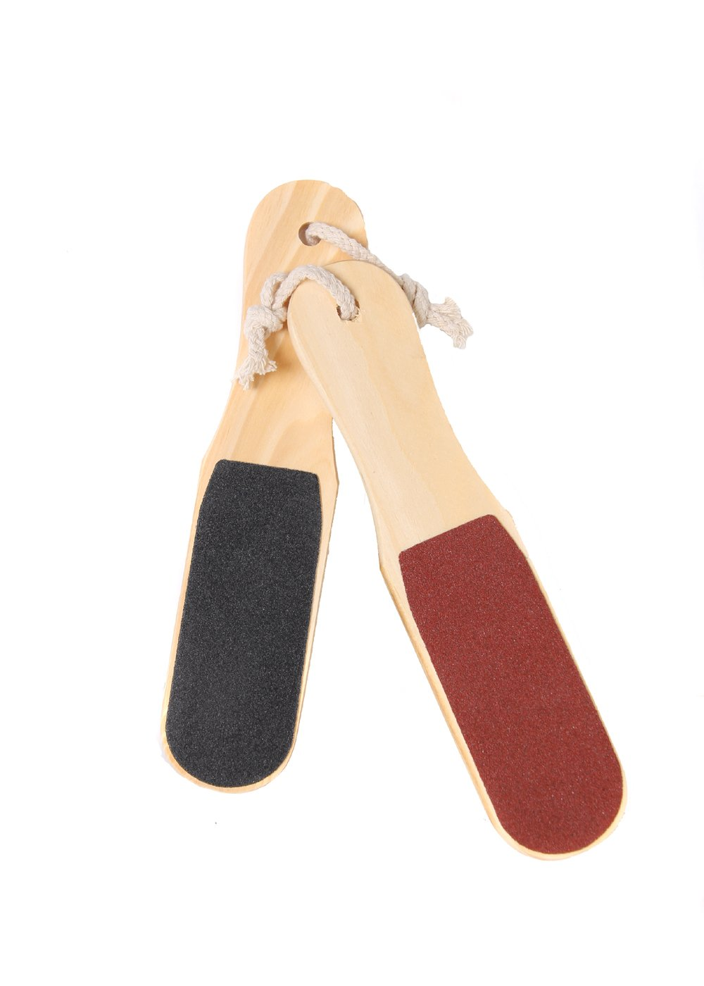 Foot File (2 Pack). Pedicure Hard Skin Remover and Feet Scrubber, 2 Sided Rasp PumiStone