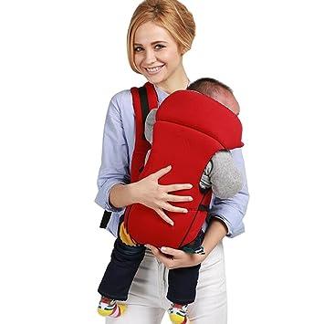 HYHAN Mochila de transporte ajustable para bebé, 4 posiciones, para ...