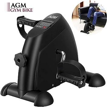 AGM Pedales Estaticos, Mini Bicicleta Estáticas, Ejercitador de ...