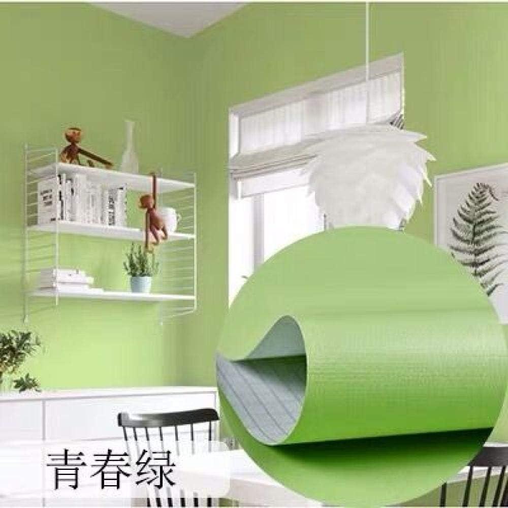 5m Fondo de pantalla pintado autoadhesivo adhesivo pared Papel pintado de pared retro verde oscuro autoadhesivo a prueba de agua dormitorio-Carolina del norte/_Los 60cm
