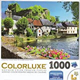 George Colorluxe 1000 Piece Puzzle - Auvezere River, Limousin, France
