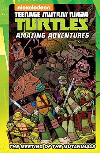 Teenage Mutant Ninja Turtles: The Meeting of the Mutanimals (TMNT Adventures)