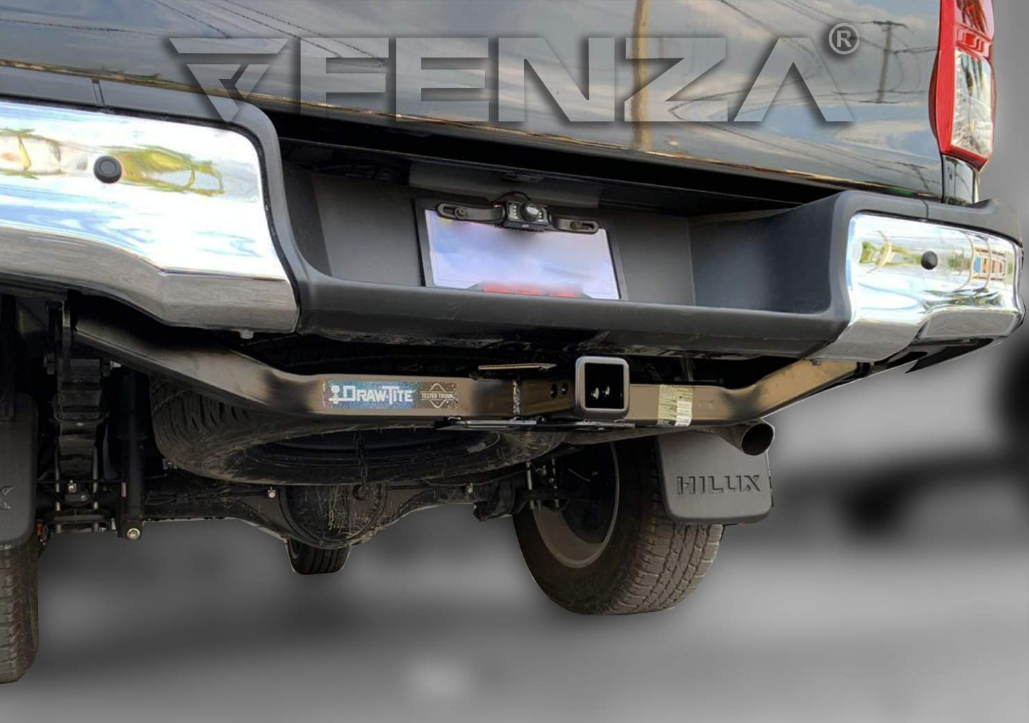 Draw-Tite Hitch Frame Receiver Class 4 for 2016-2020 Toyota Hilux by Draw-Tite