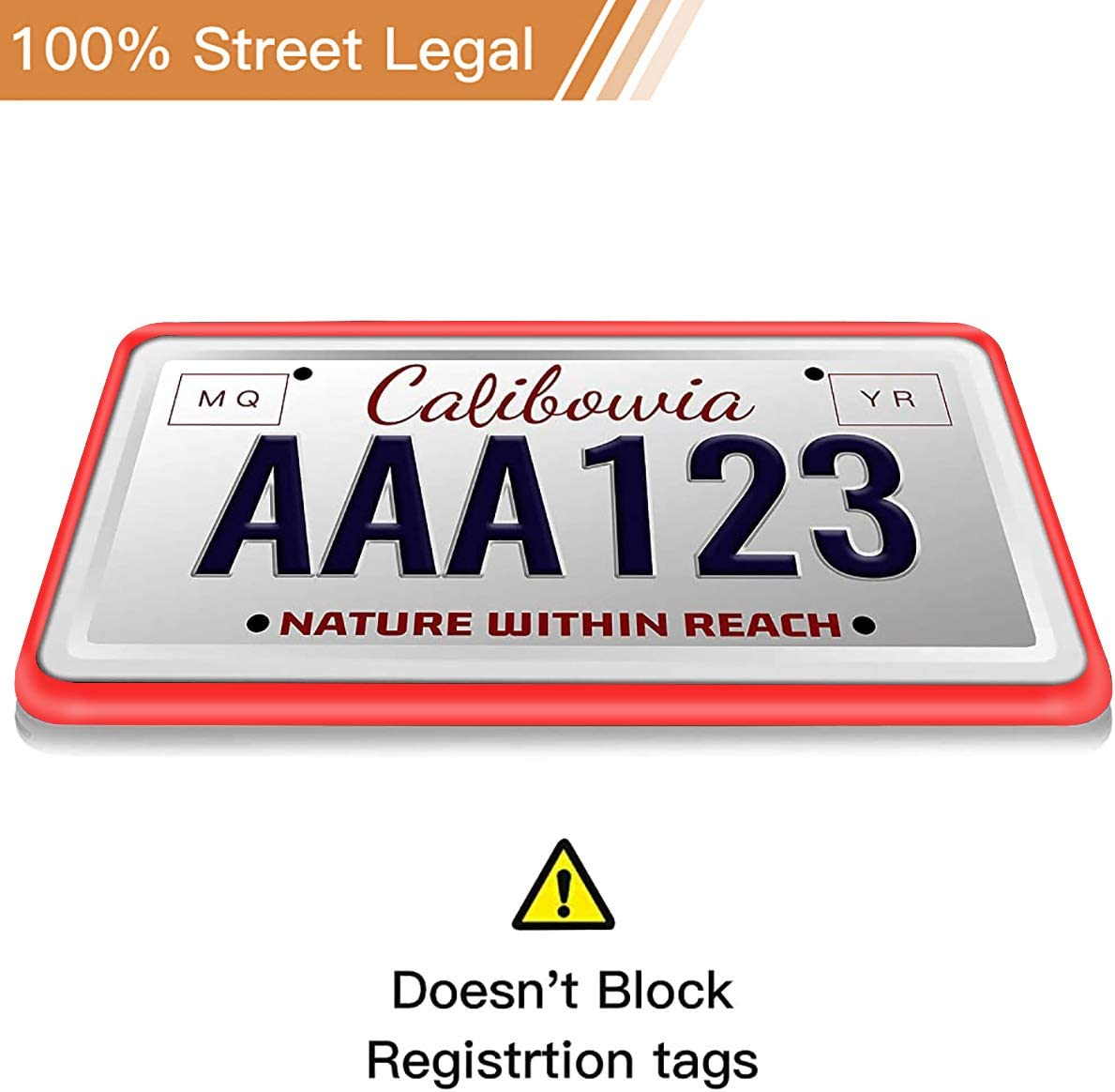 Gawell Silicone License Plate Frame Holder Shockproof License RustProof Rattle Proof Weather-Proof Car License Plate Frame Cover Black 2Pack