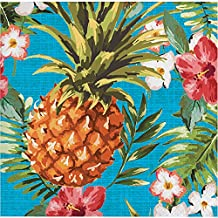 Creative Converting 319994 192 Count Aloha Beverage Napkin