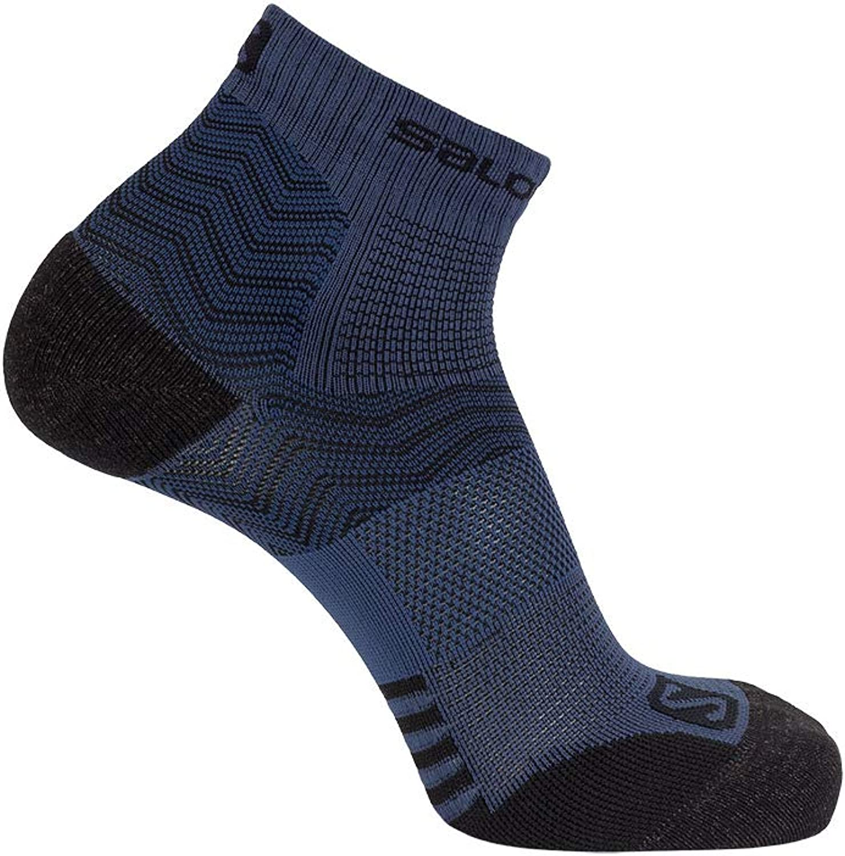 Mood Indigo//Dark Denim Salomon Standard Socks M