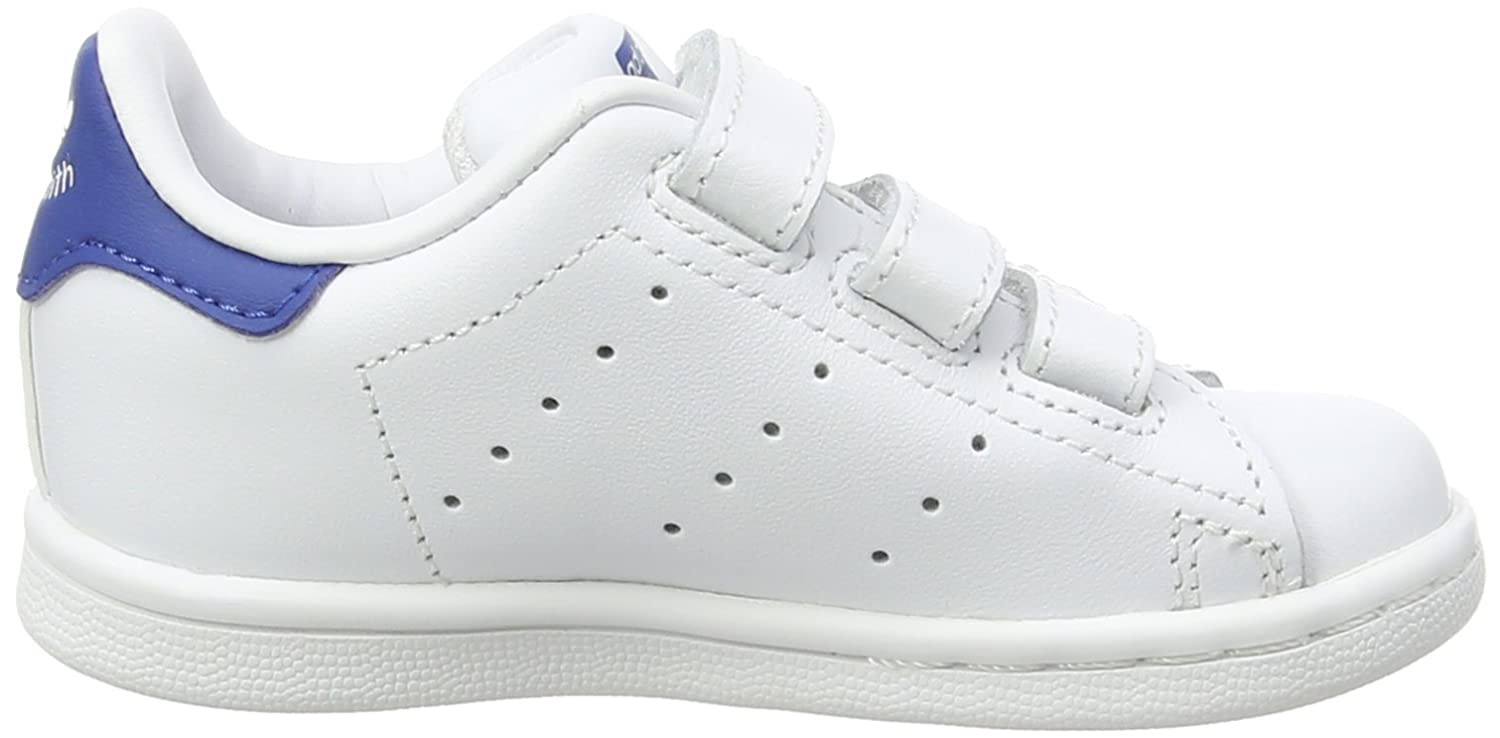 adidas stan smith white and blue
