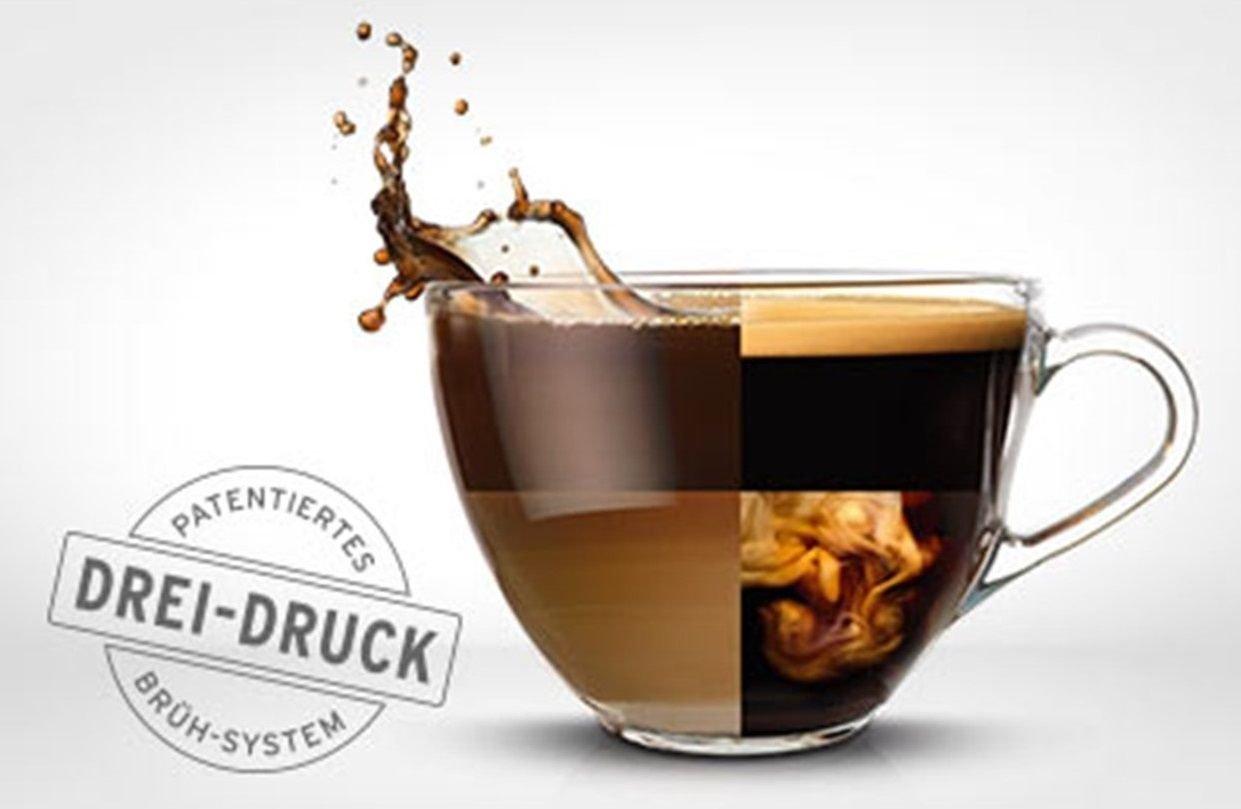 Tchibo Cafissimo Pure Cápsula Máquina para café, Café expreso y Caffè Crema, Black: Amazon.es: Hogar