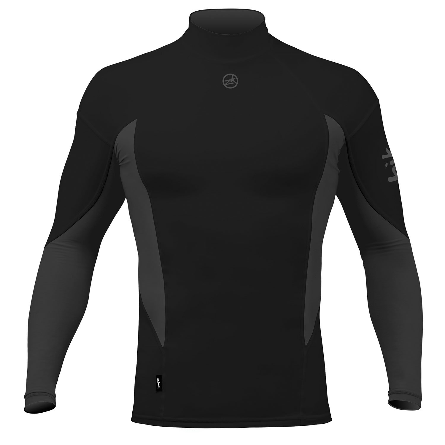 Zhik Long Sleeve Spandex Top - Black