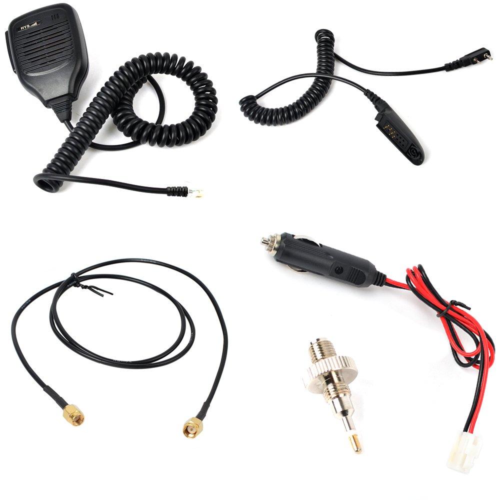 HYS 25W VHF 137-174MHz 2M Ham Walkie Talkie Power Amplifier For Motorola GP328 GP338 PRO5150 PRO7150 GP320 2 Way Radio by HYS (Image #5)