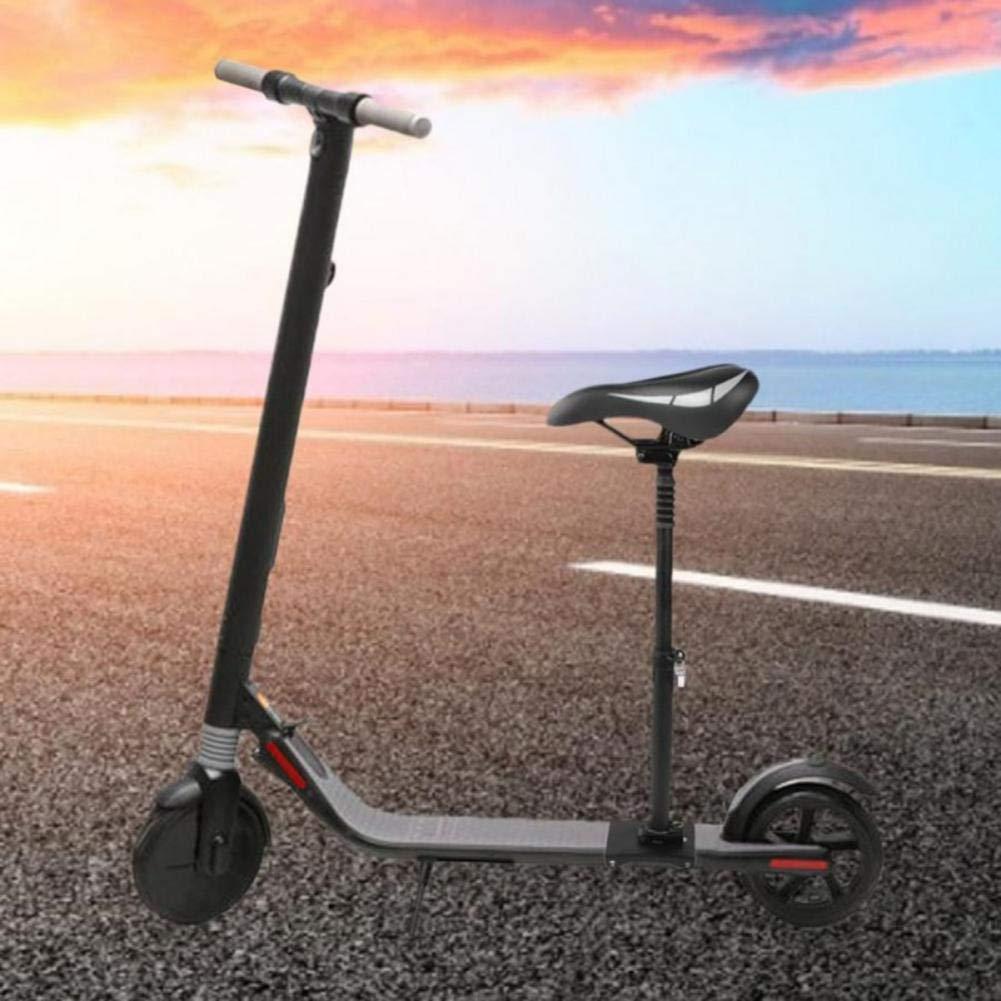 smilerr Silla de skate el/éctrica Asiento plegable amortiguador Altura ajustable Altura f/ácil de instalar Silla plegable c/ómoda para Ninebot ES1 ES2 ES4 Scooter biological