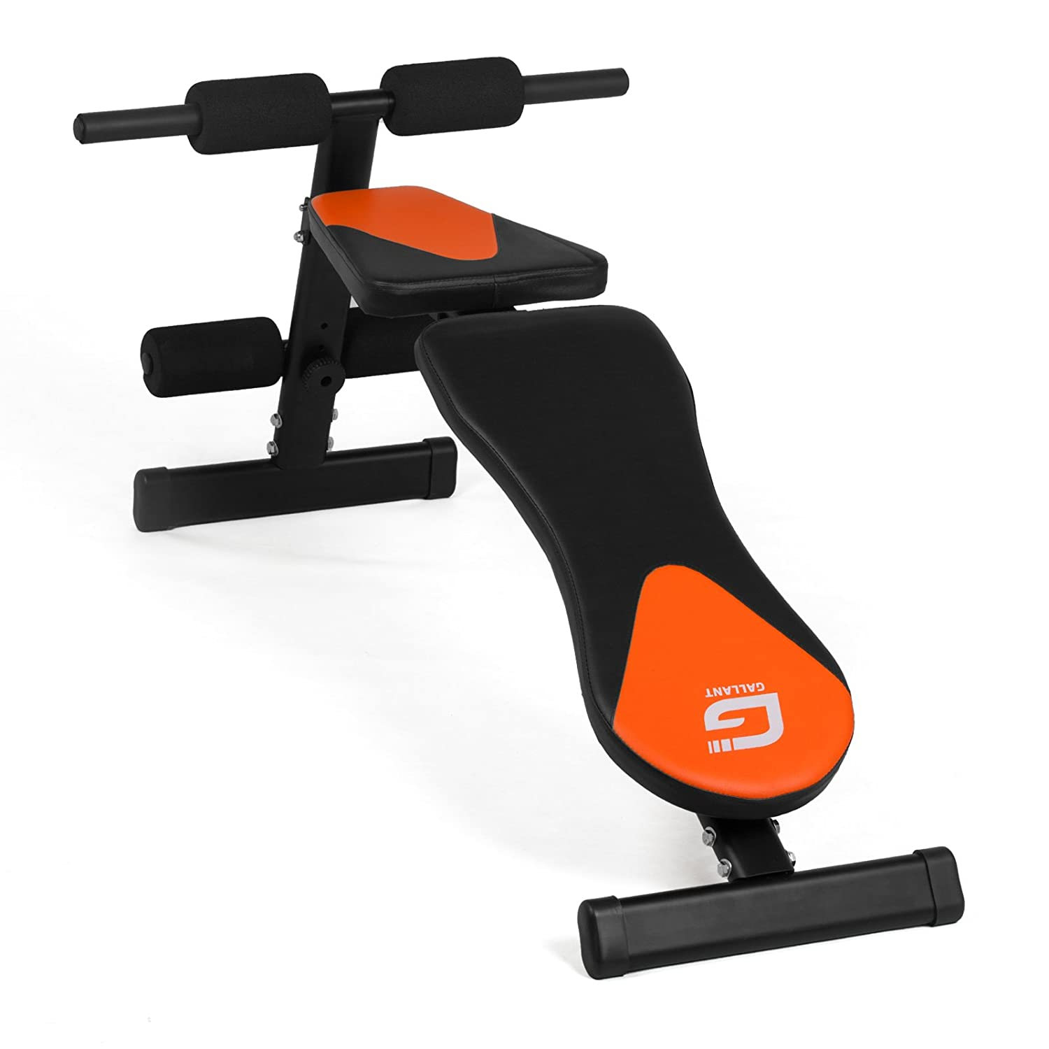 Abs Bench Workout Part - 32: Gallant Weight Bench Weight Lifting Gym Home WorkOut Bench Height  Adjustable Utility Bench Flat Incline Decline Abs Adjustable Barbell  Crunch: Amazon.co.uk: ...