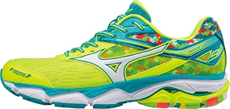 Mizuno Scarpe Running Donna Wave Ultima Amsterdam SafetyYellow White ... af51fa1e3df