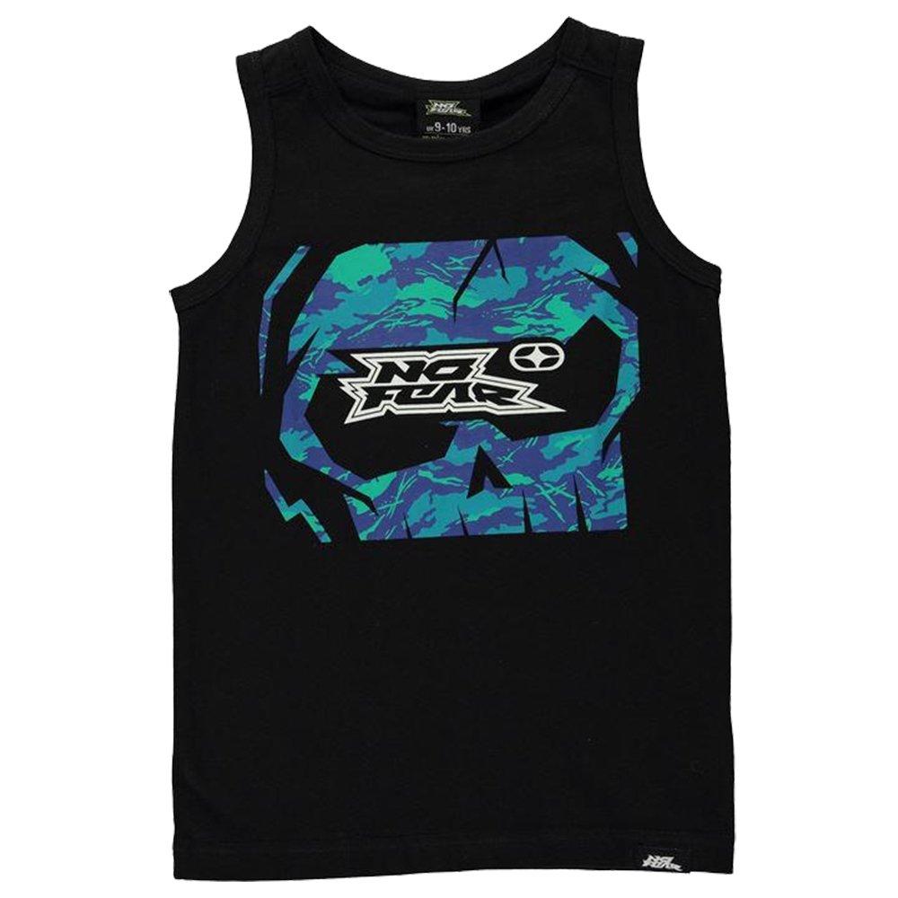 No Fear Boys Graphic Vest Top Crew Neck