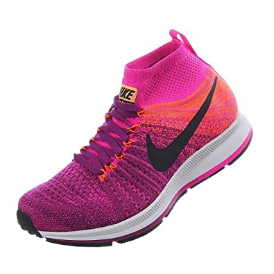 6c518dfa9ea4 Nike Pegasus All Out Flyknit Running Boy s Shoes Size 5 Pink