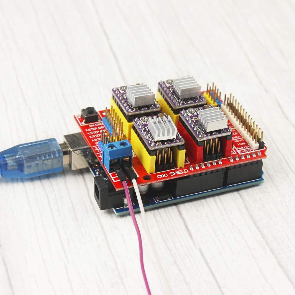 KeeYees Profesional Impresora 3D CNC Kit para arduino con tutorial ...