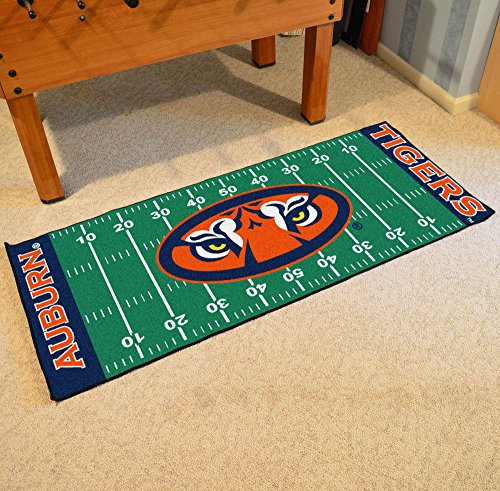Football Tigers Runner (Fanmats Collegiate 30 x 72 in. Runner)