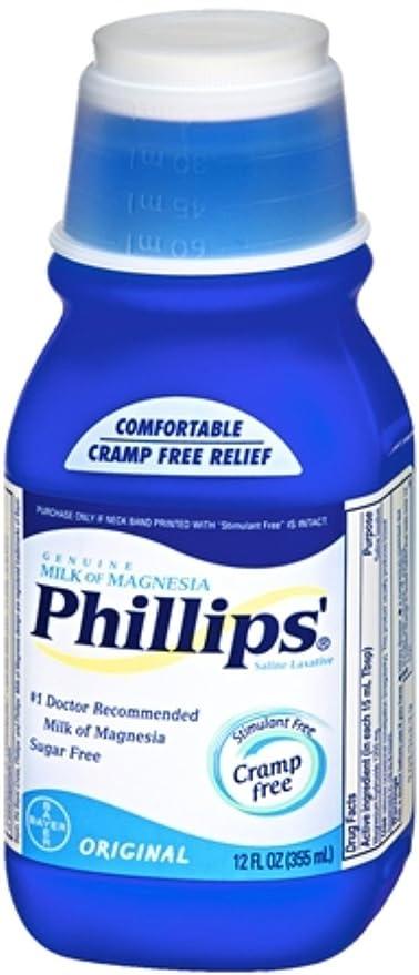 Phillips Milk of Magnesia Original 12 oz (Pack of ...