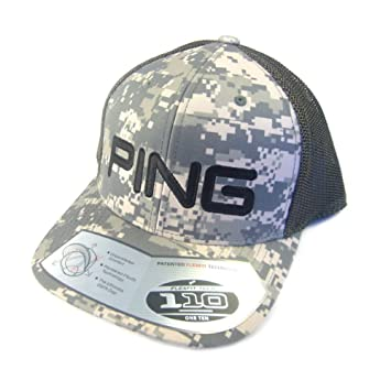 NEW Limited Edition Ping Digital Camo Trucker Mesh Adjustable Snapback Hat  Cap by Ping  Amazon.co.uk  Sports   Outdoors dc408e34ccbd