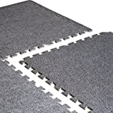 CAP Barbell 24 Square' (6 Tiles) 24'' x 24'' Interlocking Carpet-Top Puzzle Mat