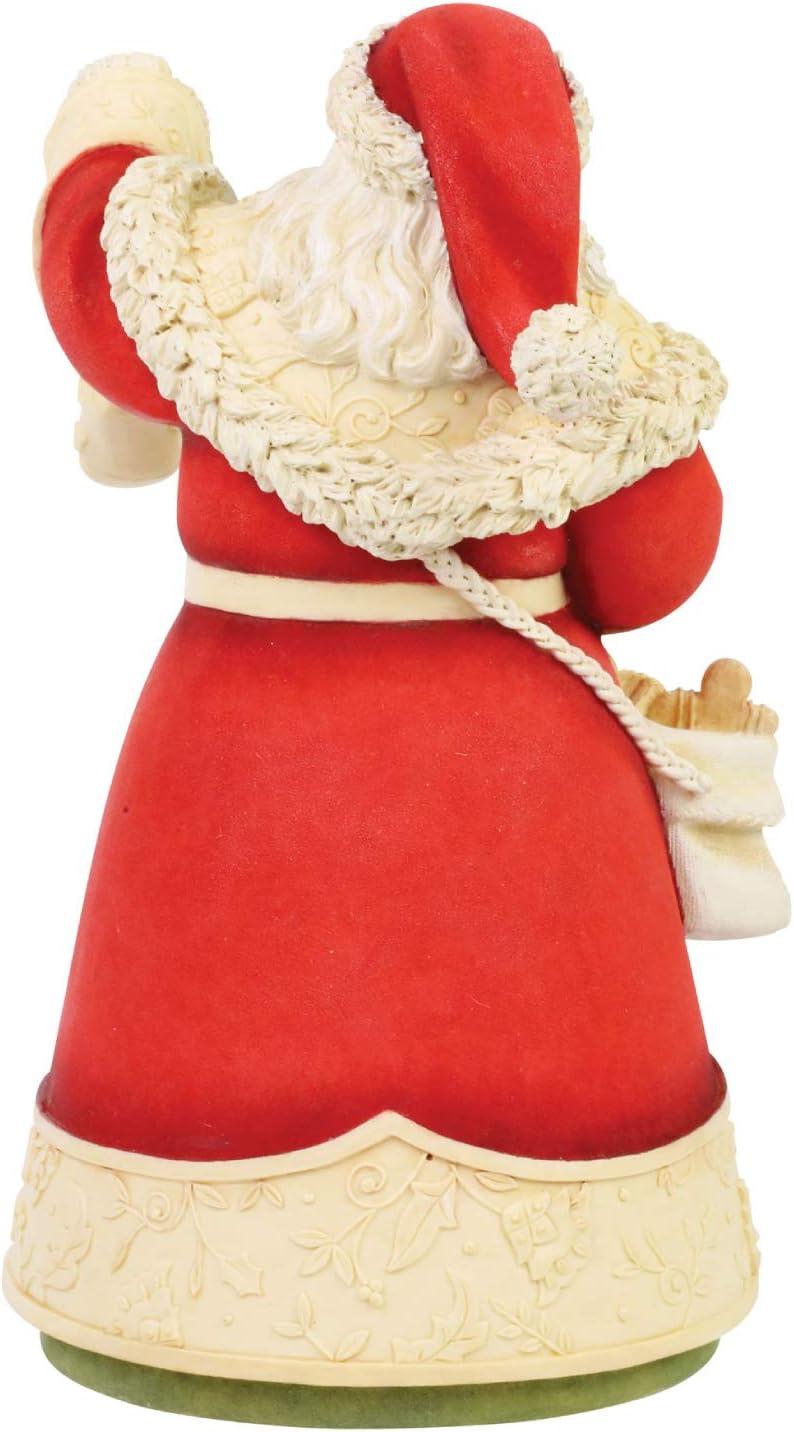 Multicolor 8.07 Inch Enesco Heart Santas Christmas Treats Figurine