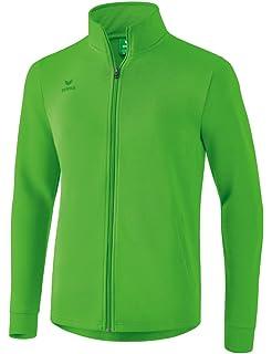 Erima Erwachsene Jacke Retro Jacket, SmaragdGelb, L, 207405