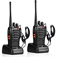 $26 » pxton Walkie Talkies Rechargeable Long Range Two-Way Radios with Earpieces,2-Way…