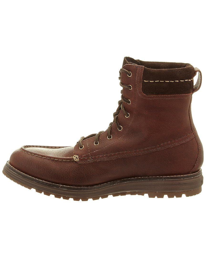 Cole Haan Mens Lockridge Moctoe Boot WP C23214 Harvest Brown