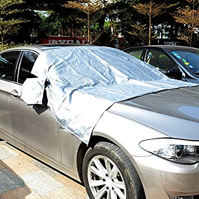 Car Sun Shade,Mastertool Car Windshield Cover Car Windshield Protector Windscreen Frost Cover Sizes for Most Vehicles