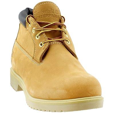 f8fbc1f38e049 Timberland Mens Premium Waterproof Chukka Wheat Nubuck Boot - 9.5 W