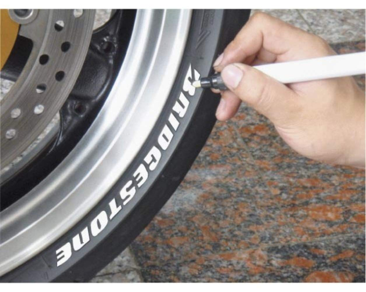 Keiti Motorcycle Car Tyre Pen Marker TP300R Red Z21-9224