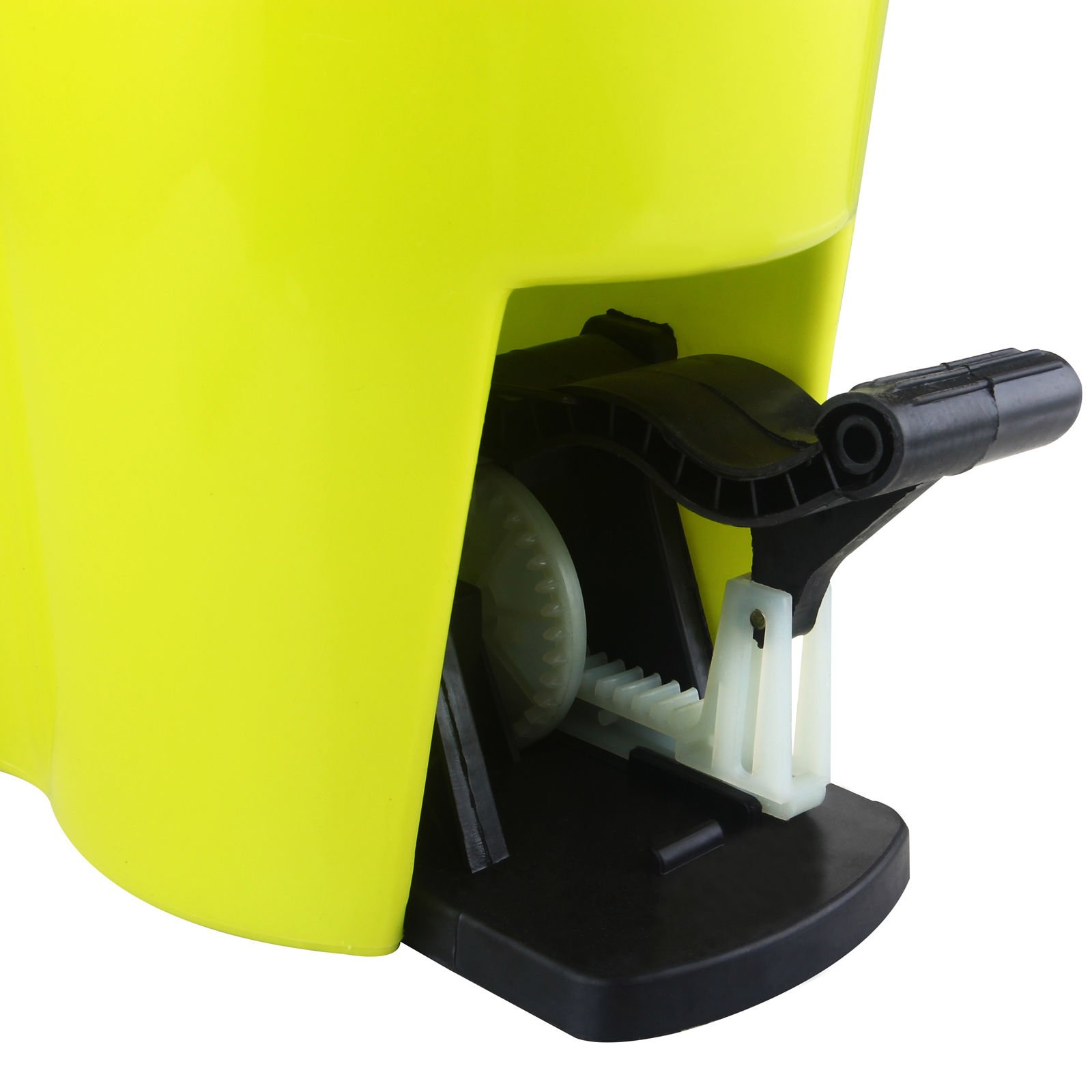 Eight24hours Magic Spin Easy Floor Mop Bucket 2 Head Green 360° Rotating + FREE E-Book by Eight24hours (Image #3)