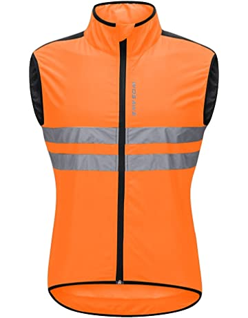 Back To Search Resultssports & Entertainment Wosawe Mtb Road Bike Reflective Jacket Light Weight Wateproof Cycling Jacket Windbreaker Jacket Safety Vest Bicycle Clothing Cycling Clothings