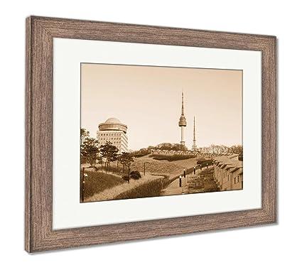 Amazon.com: Ashley Framed Prints Seoul Towernamsan Tower In Korea ...
