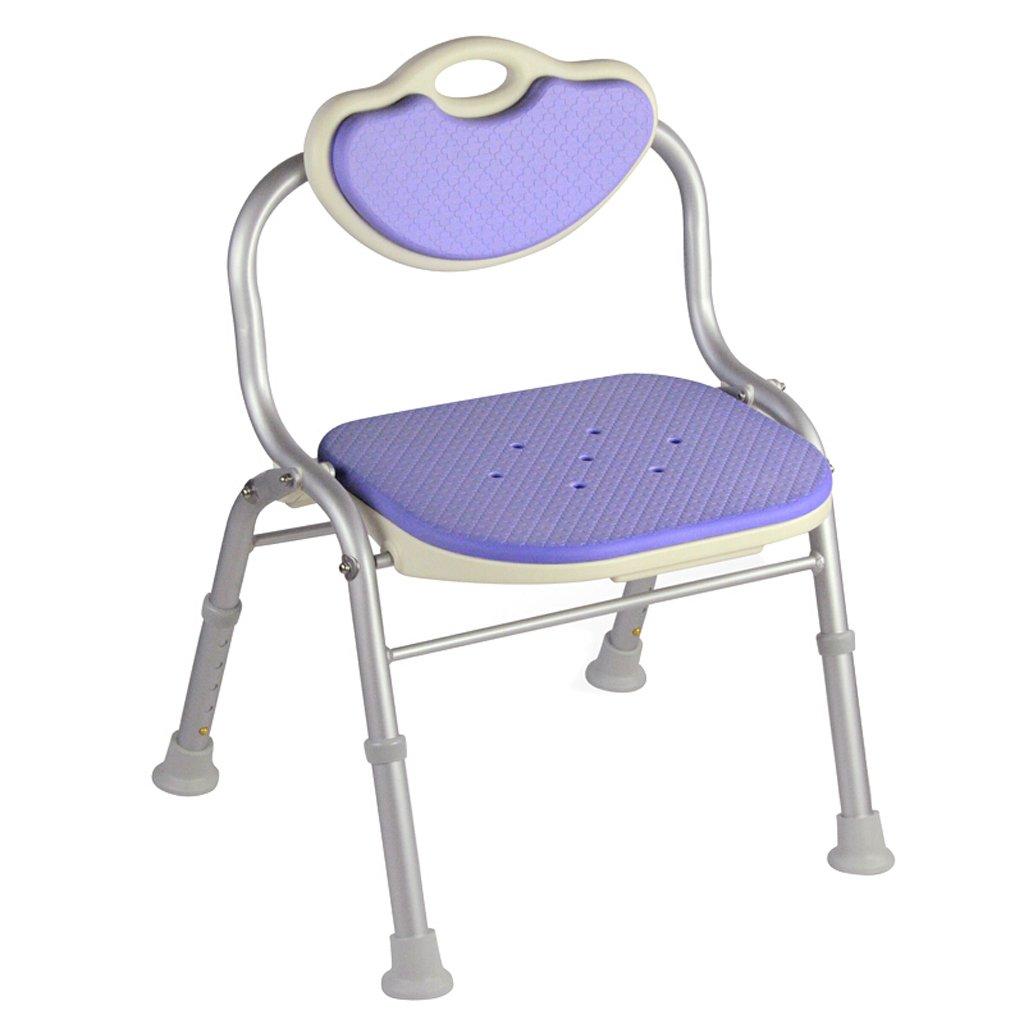 【超ポイントバック祭】 LXN シャワーチェア折り畳み式 - 高齢者 :、妊婦、障害者に適用 (色 パープル : - パープル ぱ゜ぷる) パープル ぱ゜ぷる B07D7NCNRD, パーティードレス リュクス ミモザ:b21b15f2 --- ozsesortodonti.com