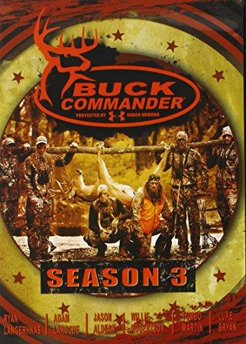 BUCK COMMANDER Season 3 DVD Protected by Under Armour - Starring Luke Bryan, Jason Aldean, Adam LaRoche, Ryan Langerhans, and Tombo Martin
