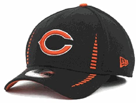da20d994ccf Image Unavailable. Image not available for. Color: Chicago Bears 39Thirty  Blue Structured Flex Fit Training Cap by New Era ...