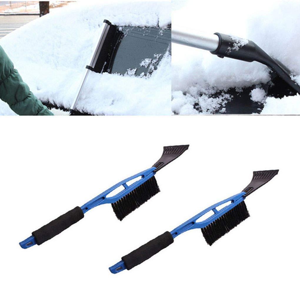 Ben-gi 2-in-1 Eiskratzer Fahrzeug Schneeb/ürsten ausbauen Schaufel Griff Auto-Fenster-Winter-Schnee-Reiniger