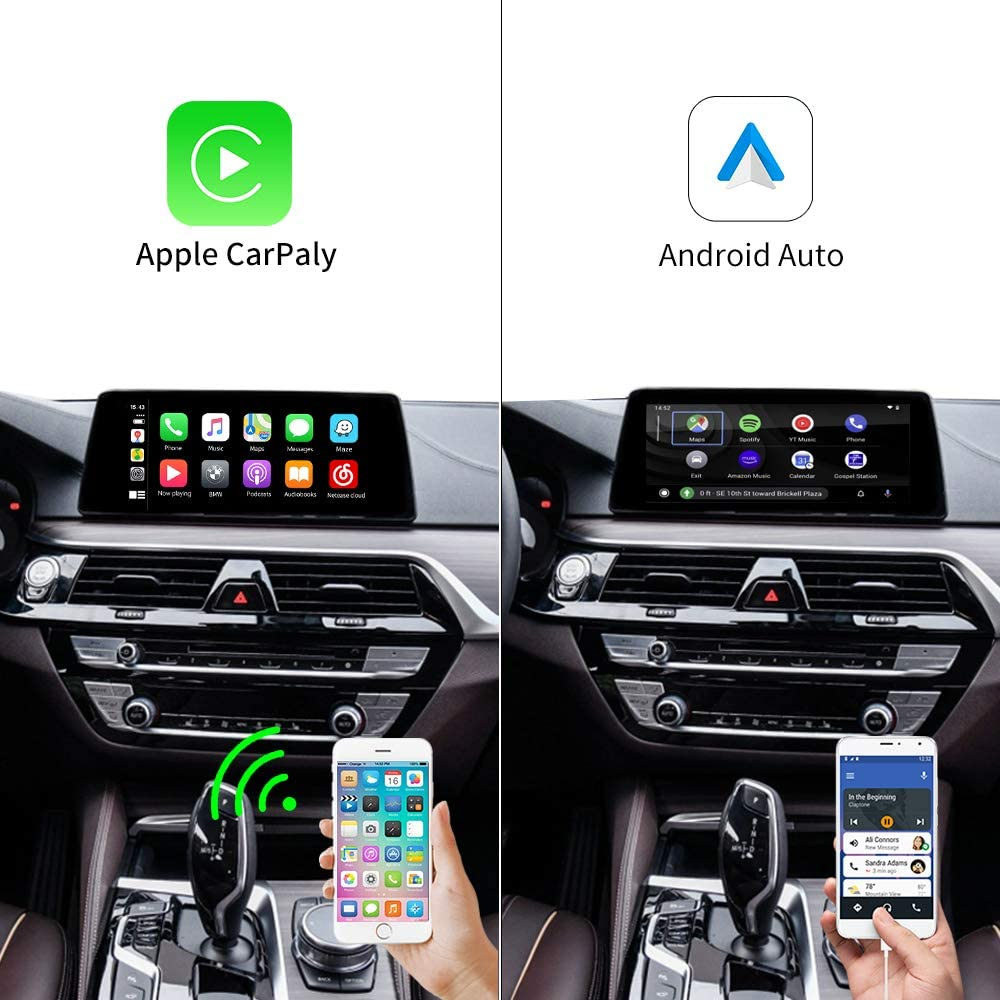 Support iOS13 AirPlay Multi-Window Screen X1//X2//X3//X4//X5//X6//MINI Carlinkit Wireless Carplay//Wired Android Auto for BMW Modified Carplay Module Compatible with BMW NBT System 1//2//3//5//7 Series
