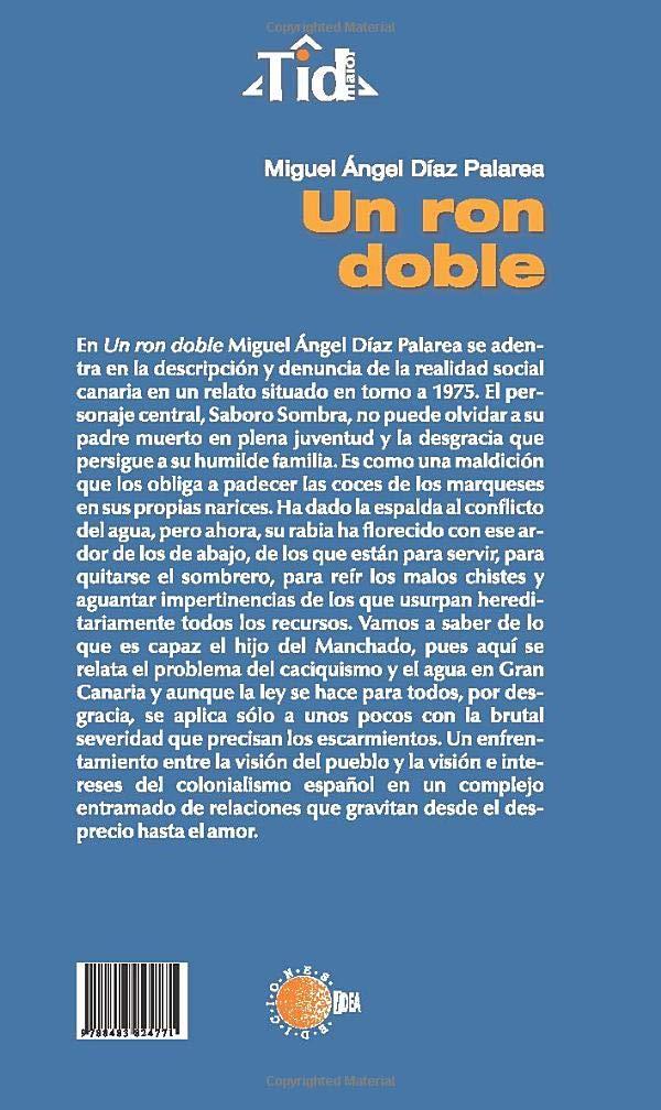Un ron doble: Amazon.es: Díaz, Miguel Díaz: Libros