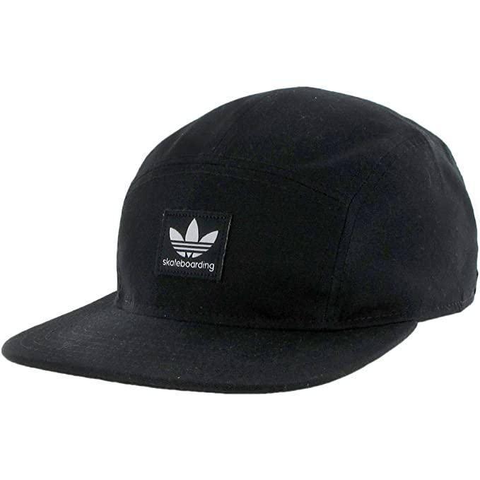 b211de845d0 Adidas Skate 5-Panel (Black) Hat  Amazon.ca  Clothing   Accessories