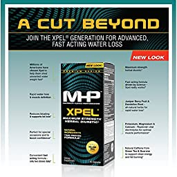 MHP Xpel Maximum Strength Diuretic Capsules, 80 Capsules (Packaging May Vary)