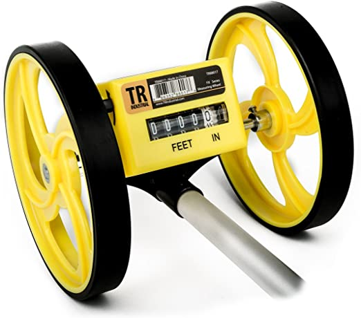 TR Industrial Measuring Wheel Walking Tape FX Series Collapsible 9999FT ACCURATE