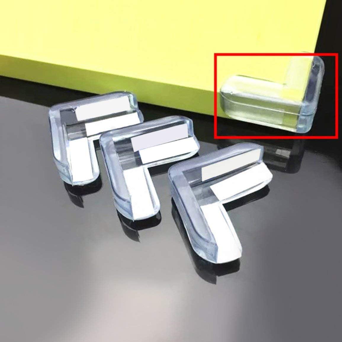 4 pcs B/éb/é Enfant S/écurit/é Prot/éger Table Bureau Coins Coussin Garde Pare-chocs /Épaissi Garde Tapis de Protection Crash Protection Couverture Pads