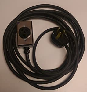 3 Prong 30 Amp Dryer Extension Cord (20 Ft)