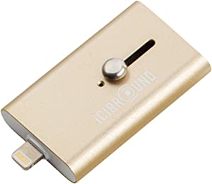 iShowFast 32GB (Gold) USB3.0 Flash Drive for iPhone & iPad with Lightning Connector