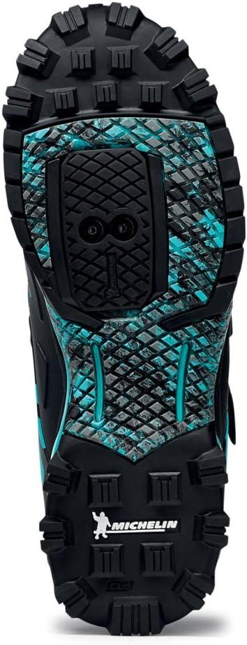Northwave Enduro Mid MTB zapatillas de ciclismo negro/aqua, Tamaño ...