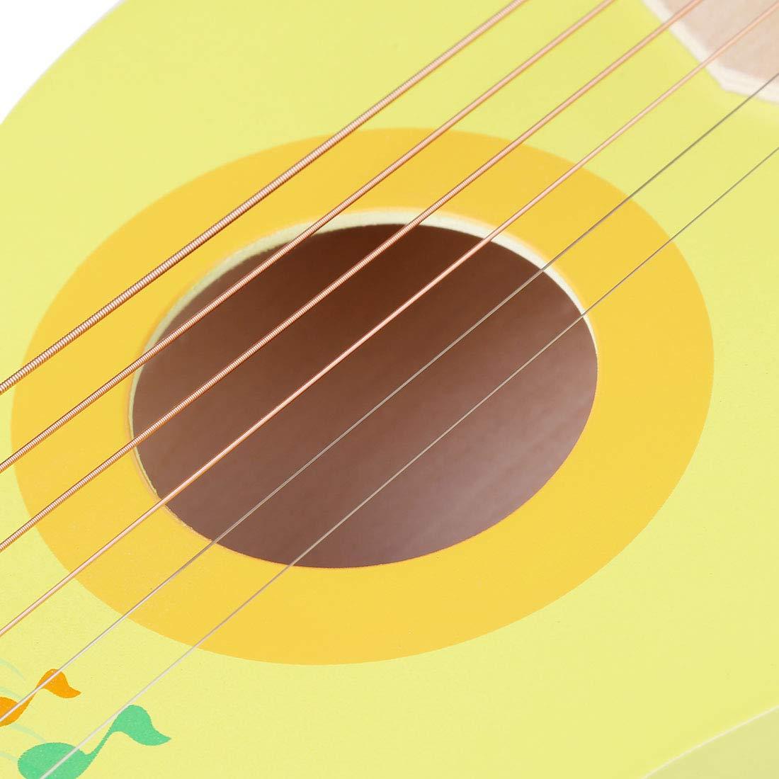 21 Pulgadas 6 Cuerdas Guitarra Juguete Regalo para Ni/ñas Instrumentos Musicales Infantiles K9CK Guitarra para Ni/ños